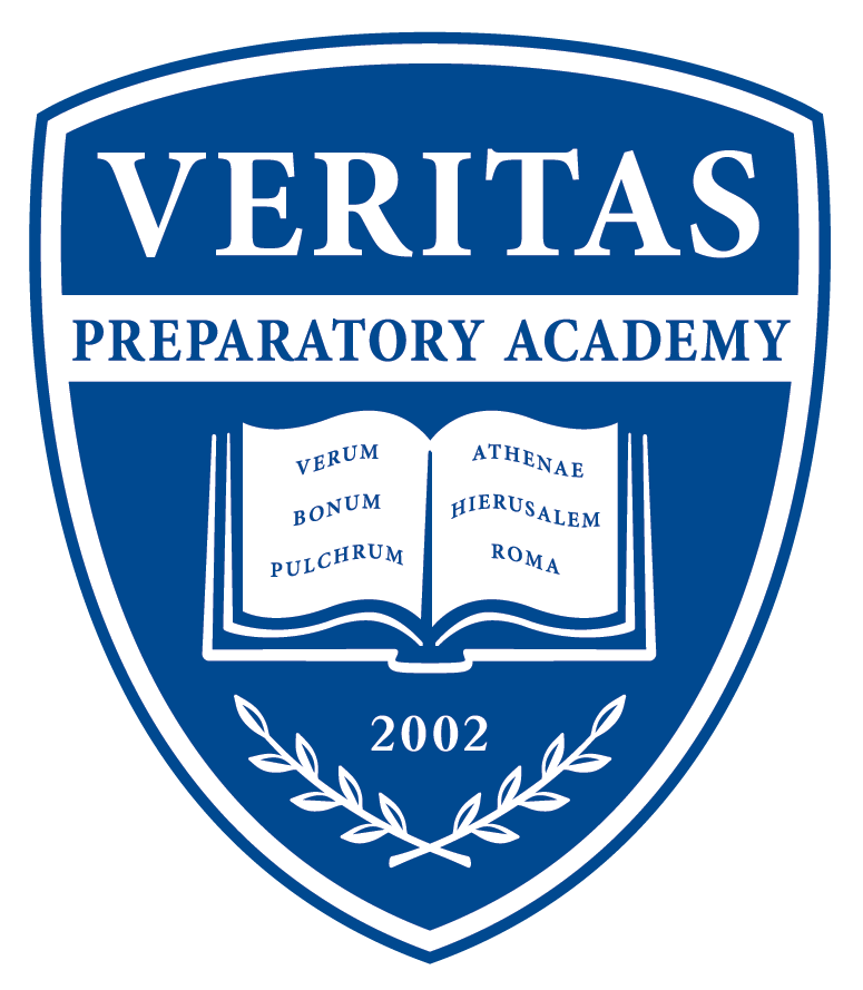 Great Hearts Veritas Prep, Serving Grades 6-12 School Crest